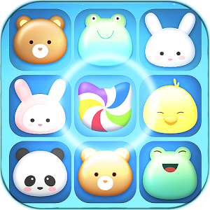 Cutie Paws – Oriplay Match 3 Game