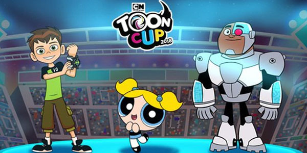 Onon and iOS released Toon Cup 2018 with cartoon characters