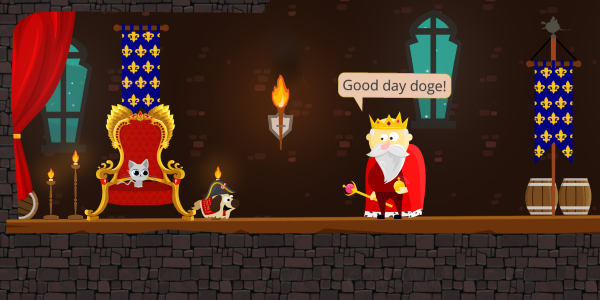 The Original Platformer Doge And Lost Kitten Requires Beta Testers On IOS