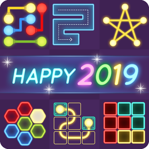 Puzzle Glow: Brain Puzzle Game Collection