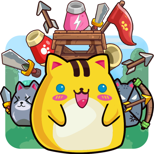 CatnRobot: Idle Defense – Cute Castle TD Game