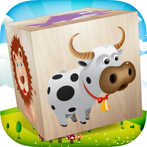 Animals Blocks Puzzle For Kids