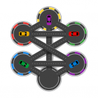 Hexa Parking Car Puzzle Game