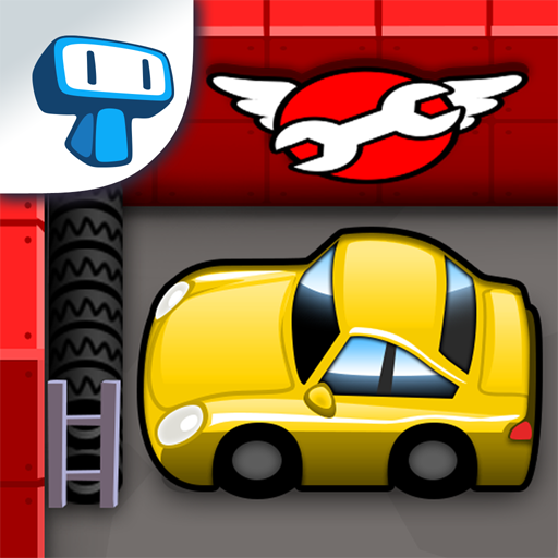 Tiny Auto Shop Car Wash And Garage Game