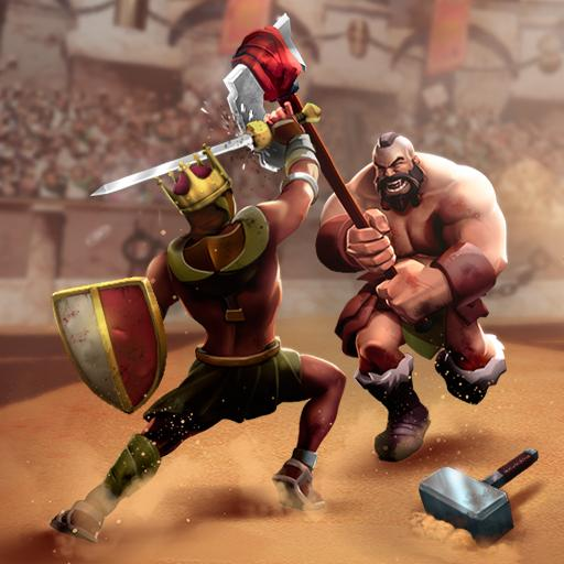 Clash Of Gladiator Heroes Fights, Blood & Glory