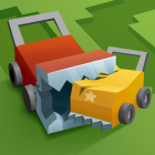 Grass cut.io – Survive & Become the last lawnmower