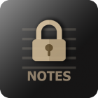 VIP Notes Secured Notepad With Attachments