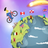 Bicycle Jump Simple Free Offline Clicker Game
