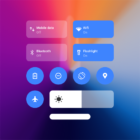 Mi Control Center: Notifications and Quick Actions