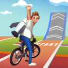 Bike Hop: Crazy BMX Bike Jump 3D