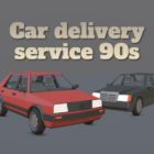 Car delivery service 90s: Open world driving